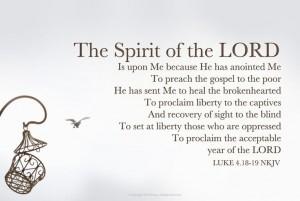 Luke 4 18