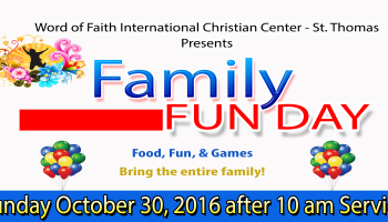 Family Fun Day - October 30, 2016